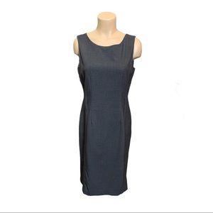 Calvin Klein Women's Gray Sheath Dress 10